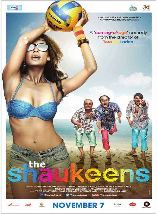 The Shaukeens Lisa Haydon Hot Bikini Poster