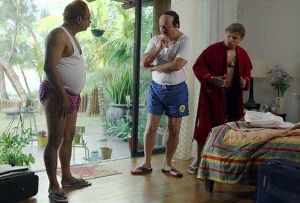 The Shaukeens Anupam Kher Annu Kapoor Piyush Mishra Comedy Pic Stills