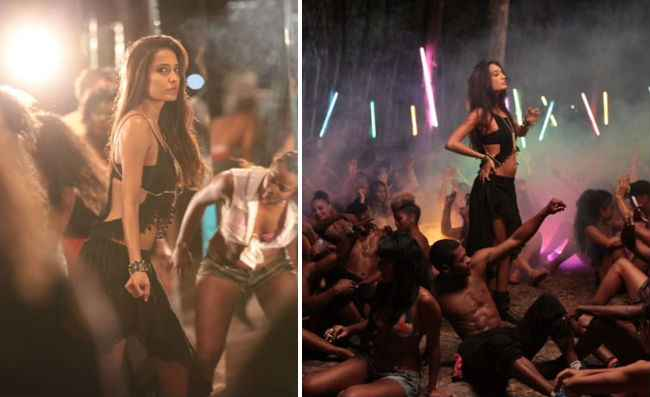 The Shaukeens Lisa Haydon In Manali Trance Song Stills
