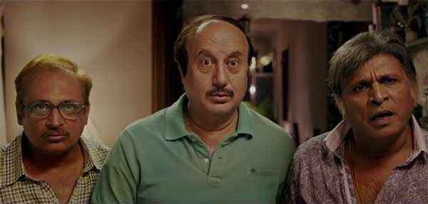 The Shaukeens Piyush Mishra Anupam Kher Annu Kapoor Picture Stills