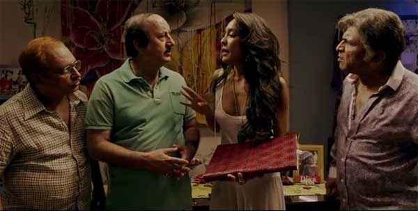 The Shaukeens Piyush Mishra Anupam Kher Lisa Haydon Annu Kapoor Pics Stills