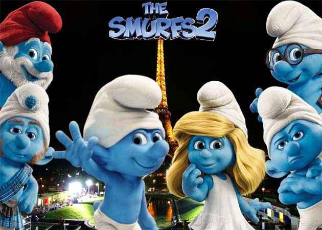 The Smurfs 2 Wallpaper Poster