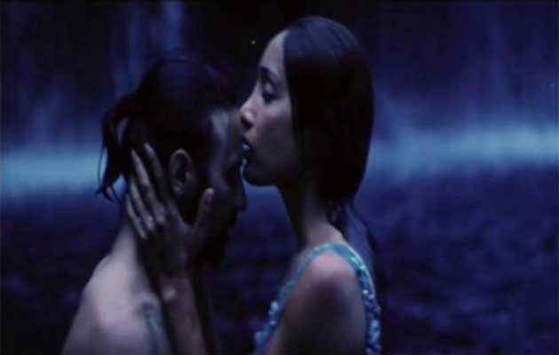 The Unforgettable Sofia Hayat Kissing Raji James Stills