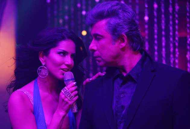 Tina and Lolo Sunny Leone Deepak Tijori Stills