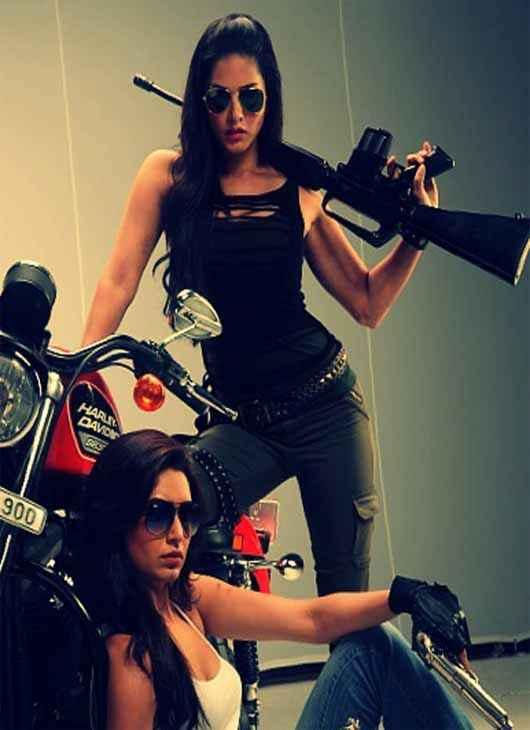 Tina and Lolo Sunny Leone Karishma Tanna Hot Photo Stills