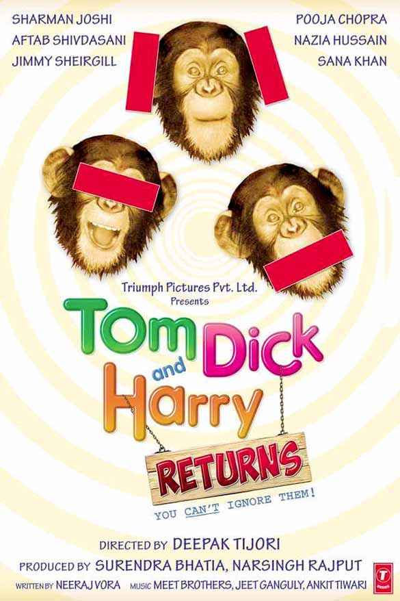 Tom Dick And Harry  Poster