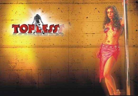 Topless Shweta Menon Hot Poll Dance Poster