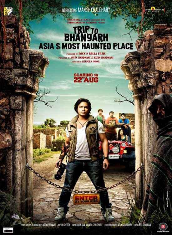 Trip to Bhangarh Rachit Behl Poster