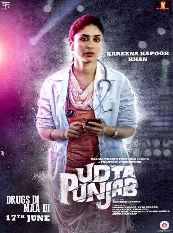 Udta Punjab Kareena Kapoor Khan Poster