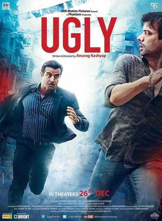 Ugly Ronit Roy Rahul Bhat Poster