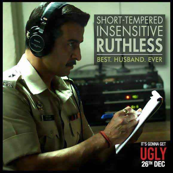 Ugly Ronit Roy Poster