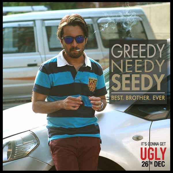 Ugly Siddhant Kapoor Poster