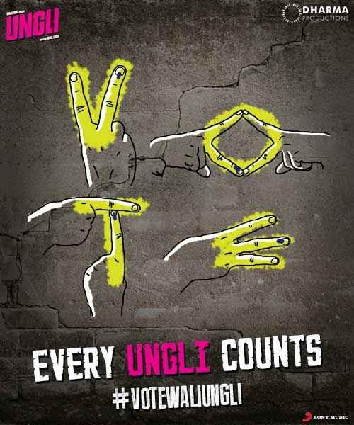 Ungli Creative Poster