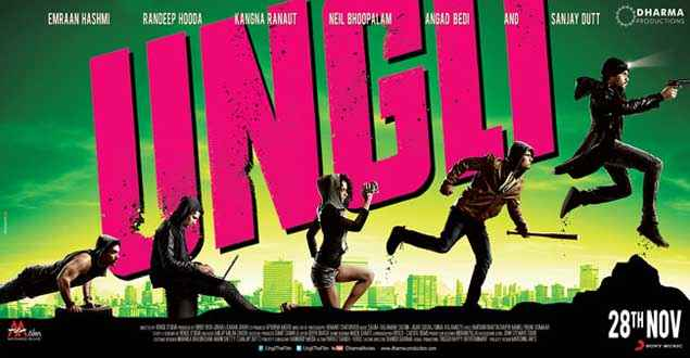 Ungli First Look Poster
