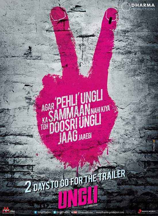 Ungli Two Poster