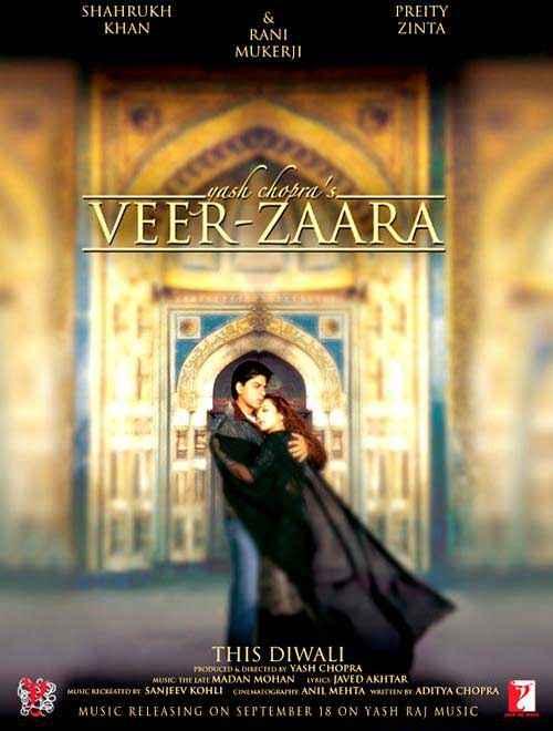 Veer Zaara Wallpapers Poster - 2072 | 3 out of 6 | SongSuno