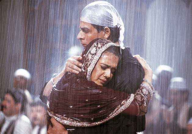 Veer Zaara Shahrukh Preity in Rain Stills