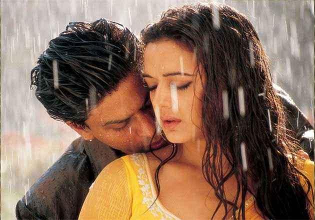 Veer Zaara Shahrukh Preity Hot Scene Stills