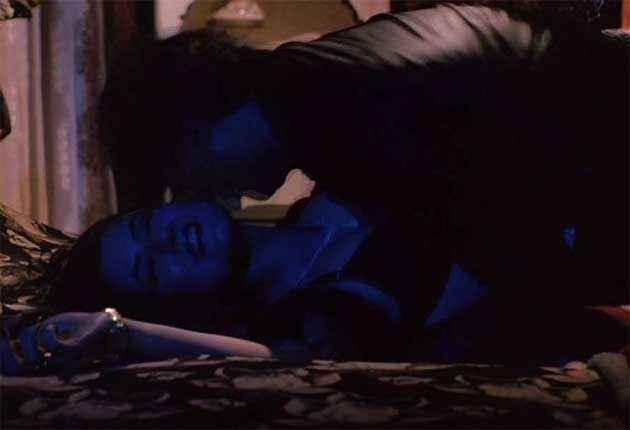 Veerana Vijayendra Ghatge Jasmin Hot Bed Scene Stills