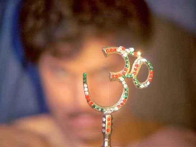 Veerana Vijayendra Ghatge With OM Stills