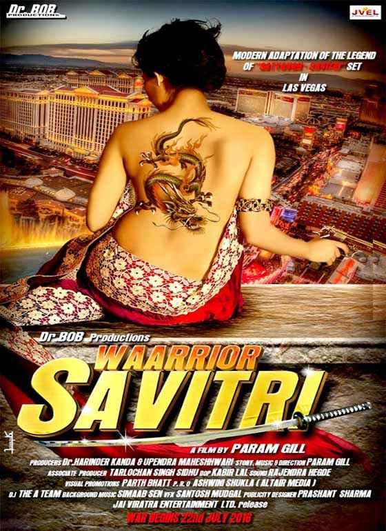Waarrior Savitri  Poster