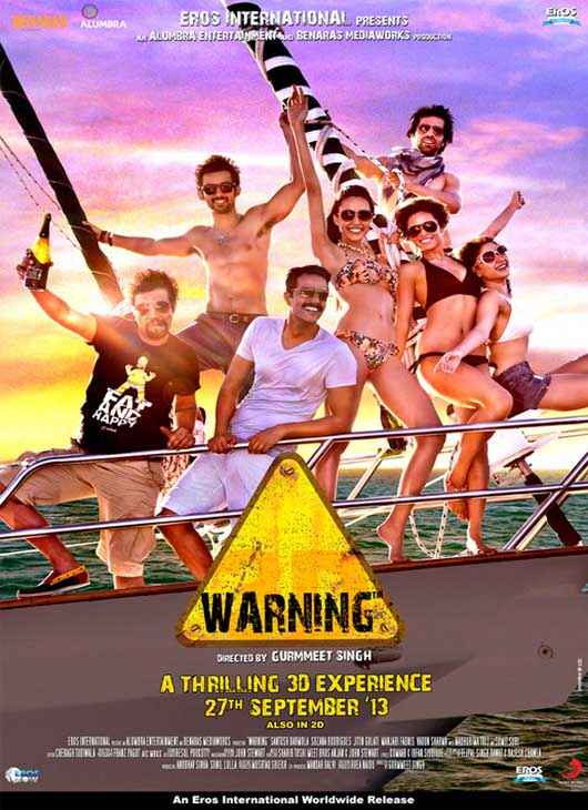 Warning 2013 First Look Poster