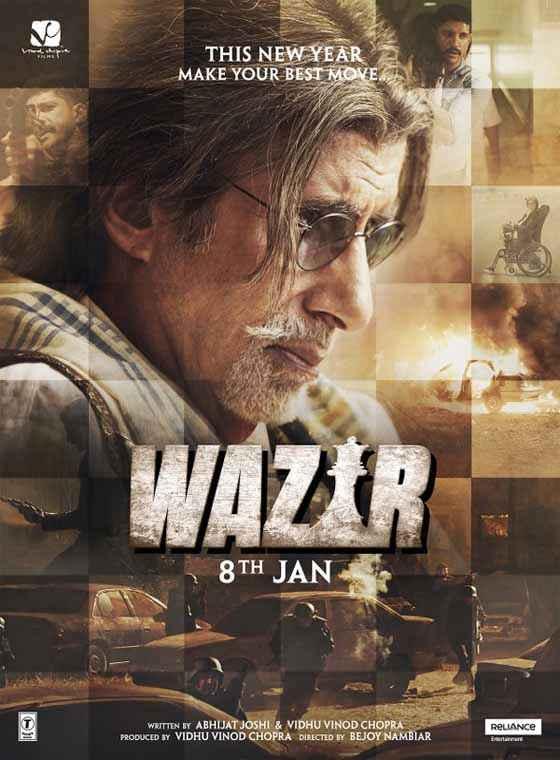 Wazir Amitabh Bachchan Poster