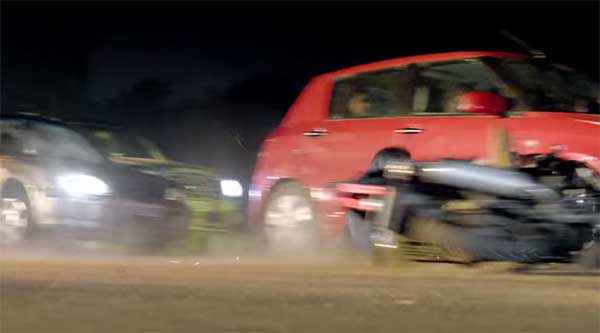 Wazir Car Accident Scene Stills