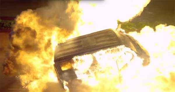 Wazir Car Stunts Stills