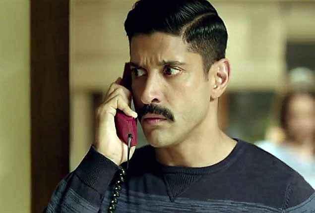 Wazir Farhan Akhtar Eyes Acting Stills