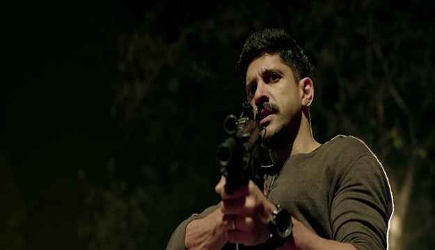 Wazir Farhan Akhtar Rifle Gun Stills