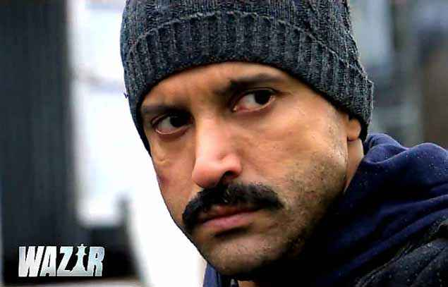 Wazir Farhan Akhtar With Cap Stills