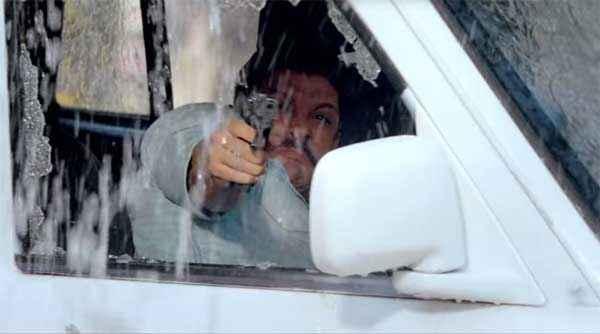 Wazir Farhan Akhtar With Gun Stills