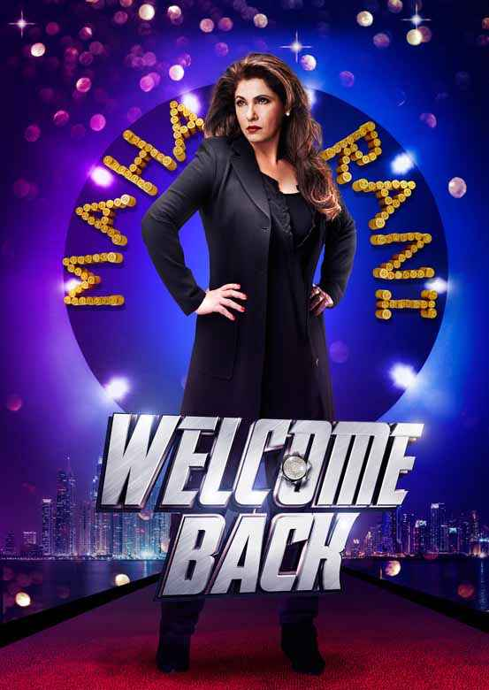 Welcome Back Dimple Kapadia Poster