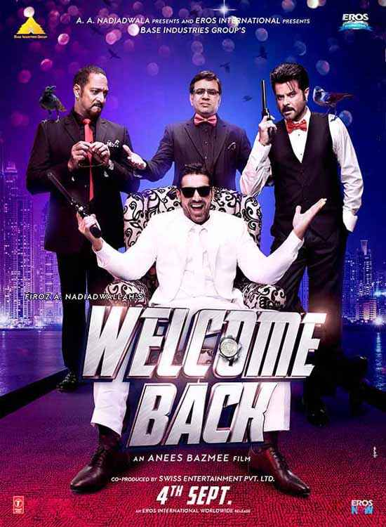 Welcome Back Image Poster