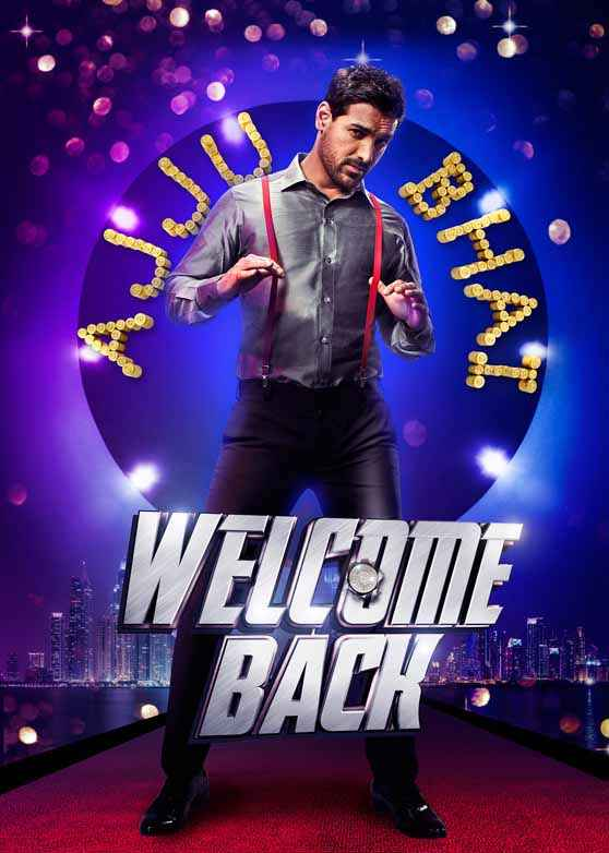 Welcome Back John Abraham Poster