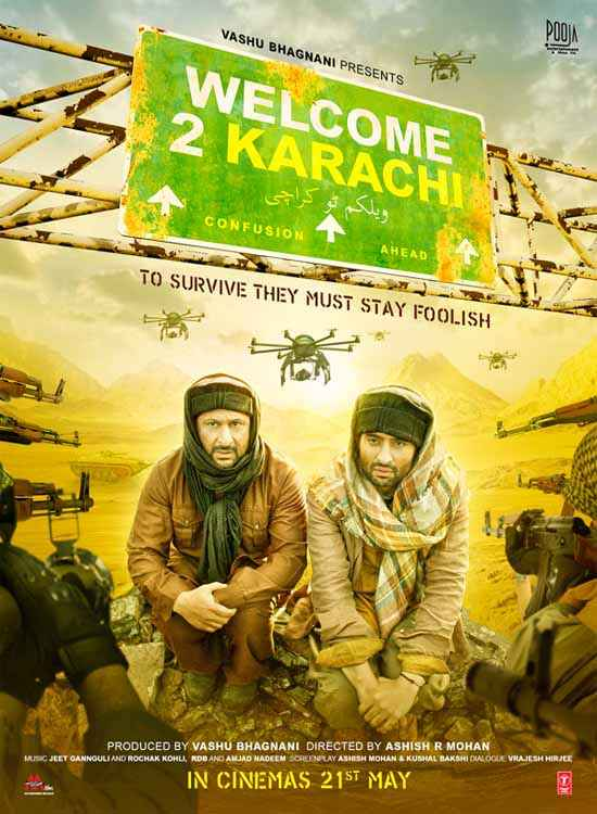 Welcome To Karachi Poster