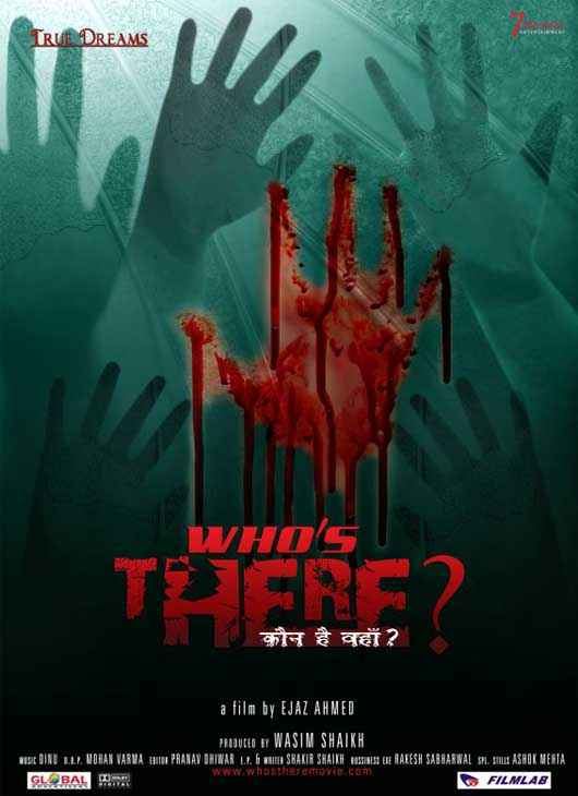 Who's There ? Horror Poster
