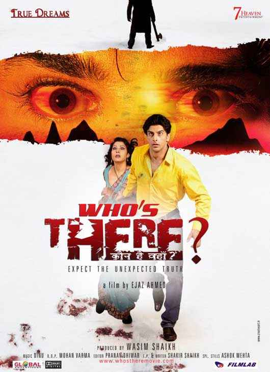Who's There ? Poster