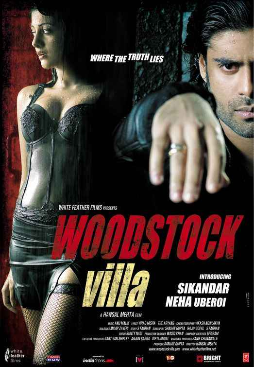 Woodstock Villa Hot Neha Oberoi Sikander Kher Poster