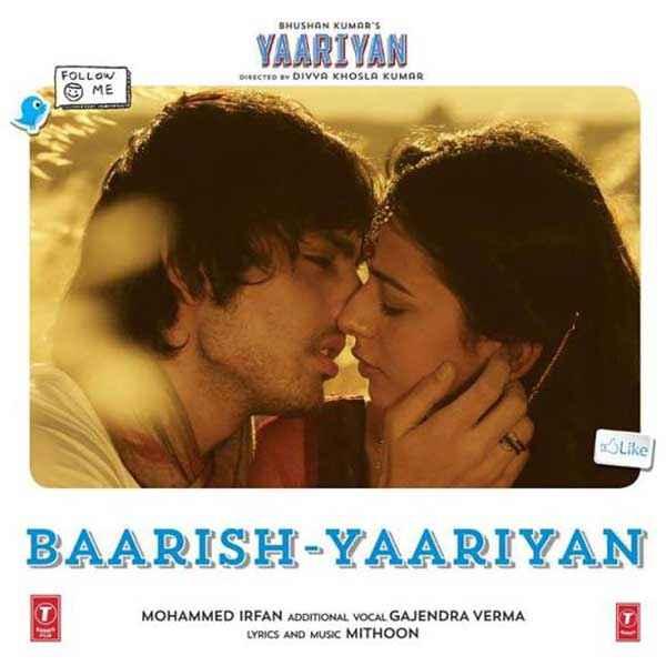 Yaariyan Hindi Movie Poster Yaariyan Baarish Song ...