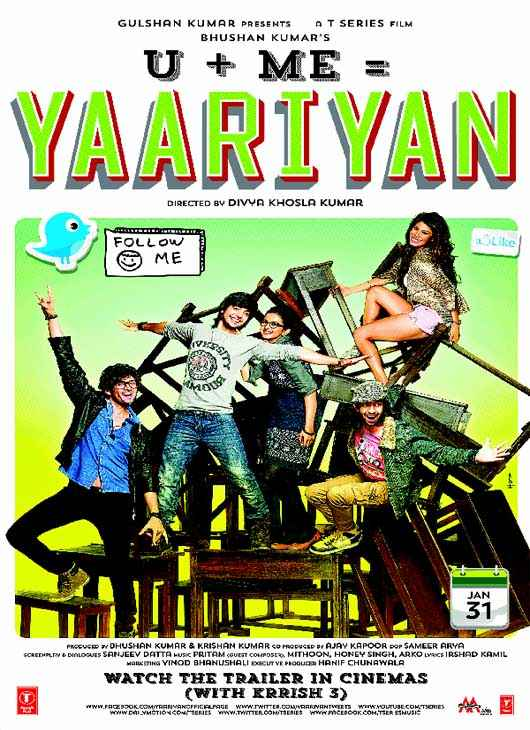 Yaariyan First Look Poster