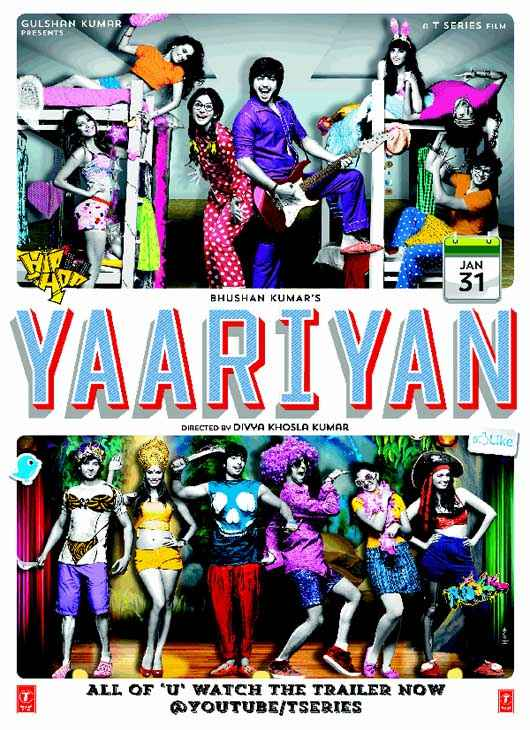 Yaariyan Wallpaper Poster