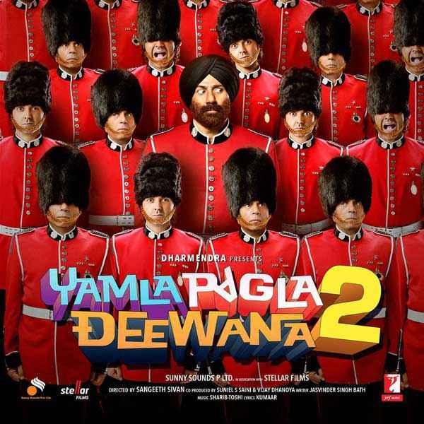 Yamla Pagla Deewana 2 First Look Wallpaper Poster