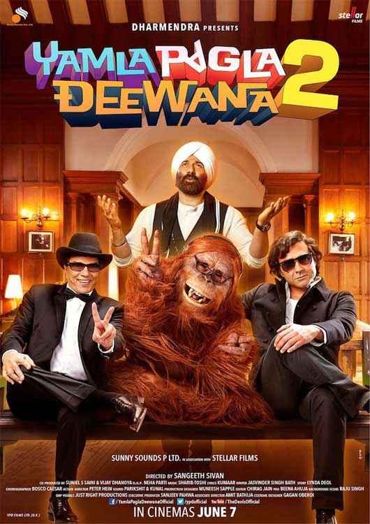 Yamla Pagla Deewana 2 New Poster