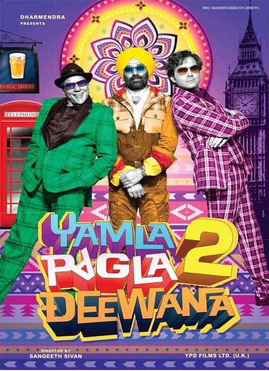 Yamla Pagla Deewana 2 Photos Poster