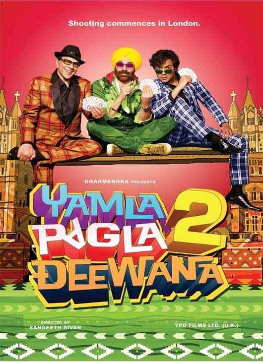Yamla Pagla Deewana 2 Wallpapers Poster