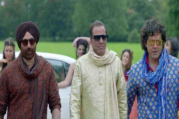 Yamla Pagla Deewana 2 Sunny Deol Bobby Deol Dharmendra Stills