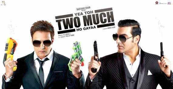 Yea Toh Two Much Ho Gayaa Jimmy Sheirgill Arbaaz Khan Poster