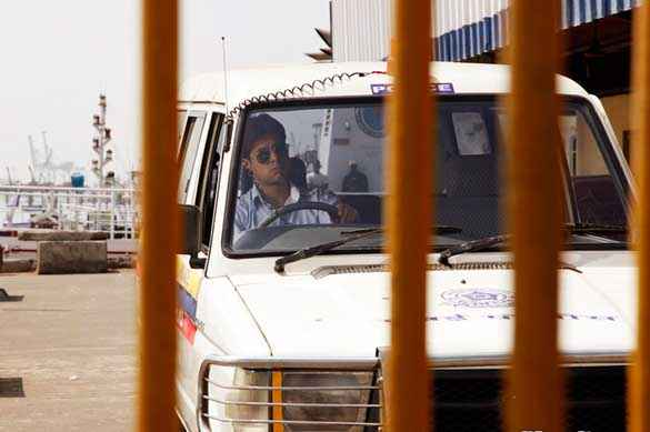 Yeh Saali Zindagi Sushant Singh Driving Polic Jeep Stills